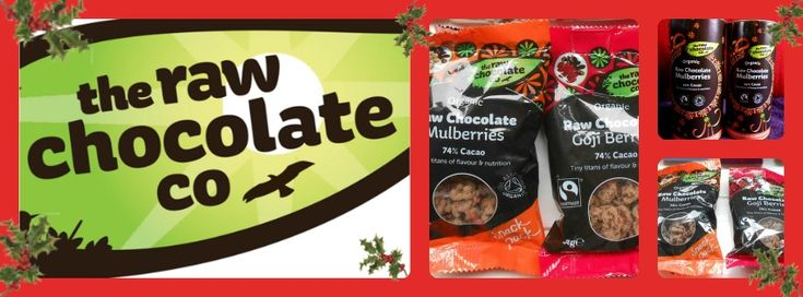 WIN - Raw Chocolate Goodies in 'Kelly Martin Speaks' 12 Days of Christmas Giveaway Bonanza  - DAY 2