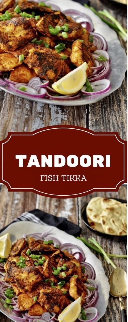 Tandoori spice blend or the Tandoori Masala is just limited to make Tandoori Chicken. This spice blend can be used on fish or other seafood as well. When you try this Tandoori Fish Tikka recipe, you will see, how the flavors come out when Tandoori Masala is mixed with thick yogurt as a marinade and then the fish is grilled or pan-fried with so-little-oil. Use fresh thick cut fish fillets (Salmon, Monk Fish, Bass or Tilapia, Snapper etc) but thickly coat the fillets with tandoori marinade and…