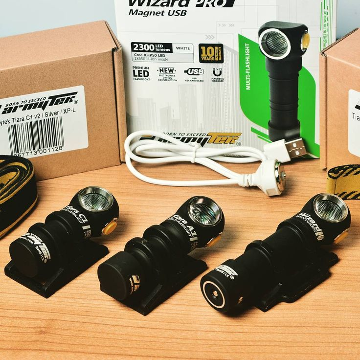 "#Armytek models of high-end headlamps – Armytek #Wizard and Armytek #Tiara – are perfect for Outdoor and Every Day Applications such as Running, Camping, Skiing, Fishing and so on. These ""little buddies"" will provide you with both powerfull light and wide range of modes. All technical information you can find here: https://www.armytek.com/products/flashlights/headlamps/ #flashlight #shop #outdoor #EDC #Canada #flashlights #followme #likeforlike #gear #light #pocket  #headlamp #lawenforcement…"