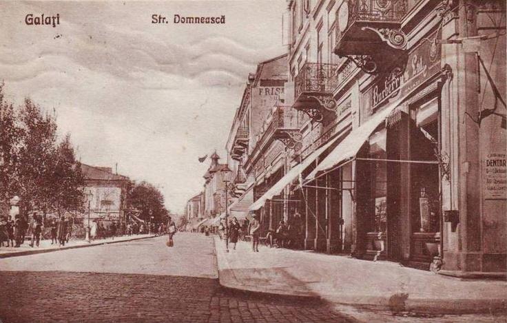 Galati, strada Domneasca, magazin Burberry's Ltd anii 1920
