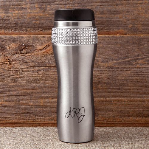Personalized Bling Coffee/Tea Tumbler