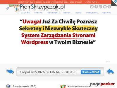 Piotr Skrzypczak | skórki wtyczki wordpress, media społecznościowe