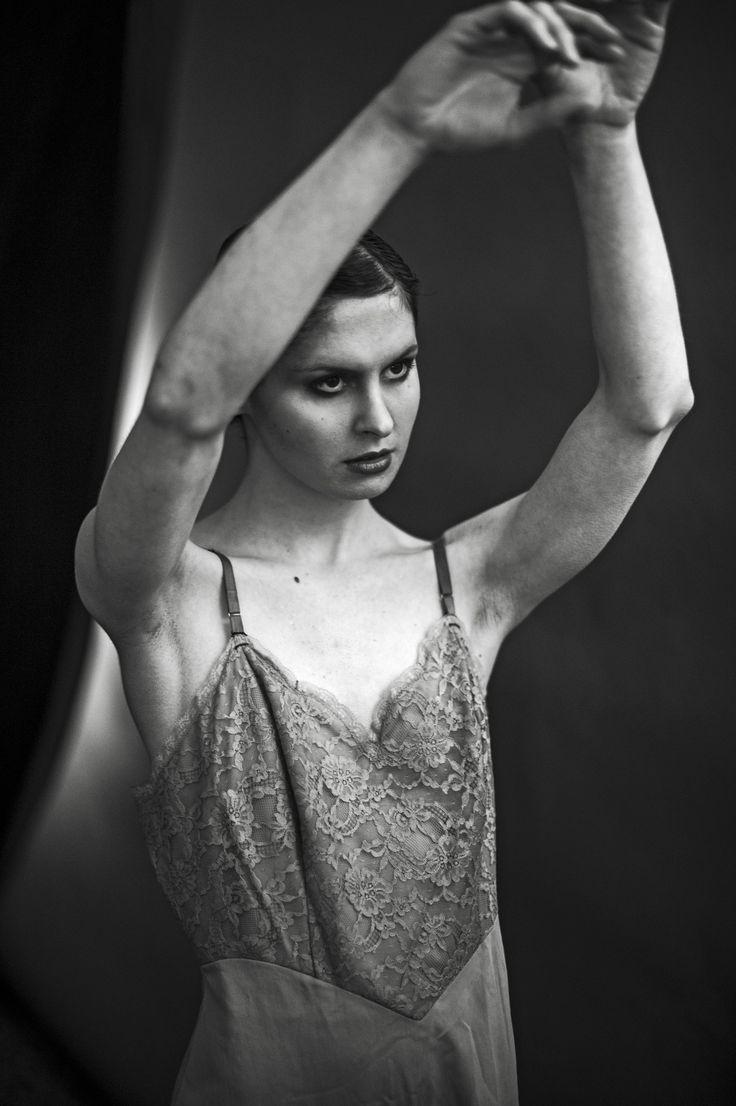 Désirée Haupt photographed by René Limbecker