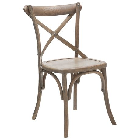 These old french style chairs are cool.. and comfy to sit in also. You can get upholstered seat versions in shabby chic shops too. Really like.