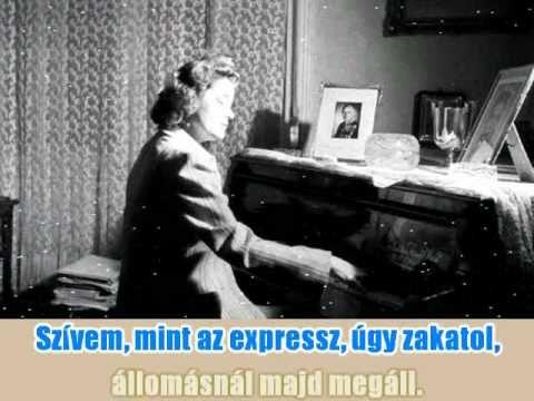 Karády Katalin - Hamvadó cigarettavég (Karaoke)