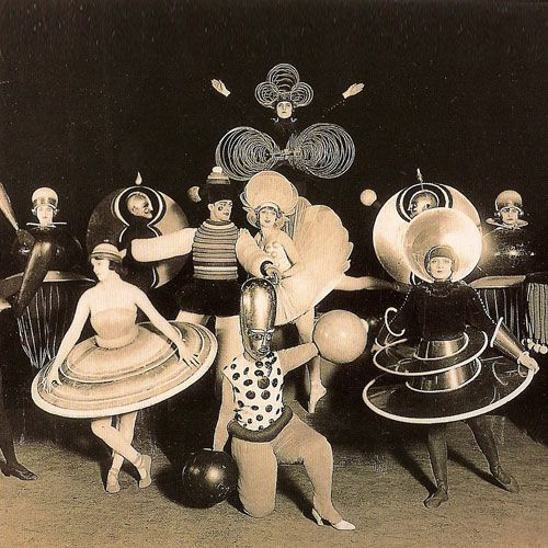Triadic Ballet -- i feel it's early 20th century atonal music modern dance/ ballet... the liberation of new technology was really the DEVO heyday.
