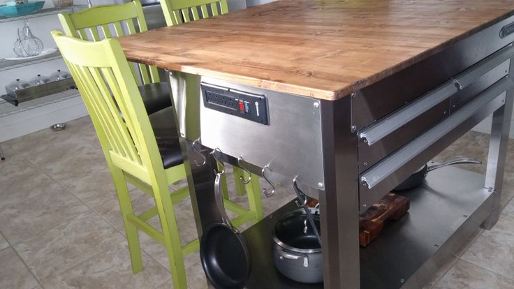 kitchen island power strip built in power is for mixers blenders etc 19774