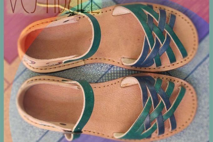 "Leather Sandals:  ""I love my Grandma"" by Vestibull"