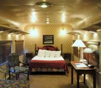Chattanooga, TN - Chattanooga Choo Choo Hotel is a beautifully restored railroad terminal, now part of a Holiday Inn where you can stay on restored Victorian train cars. It has a water garden, an herb garden, an All America Rose Selections rose garden, and a daylily collection.