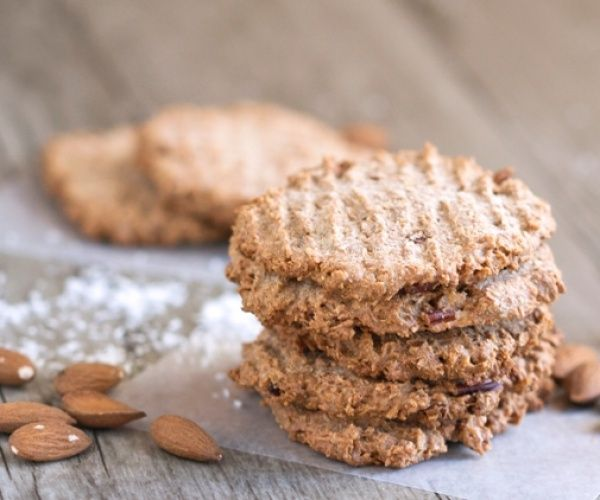 Almond butter, coconut and cinnamon cookie recipe inspired by The 21 Day Sugar Detox