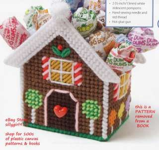 Canva Free Holiday Plastic Gingerbread Patterns | related to plastic canvas baskets patterns plastic canvas plastic ...