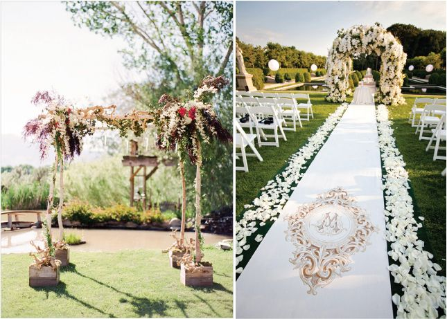 Outside Wedding Ceremony Decorations: 122 Best Wedding Arches, Trellises, Huppas, Chuppas