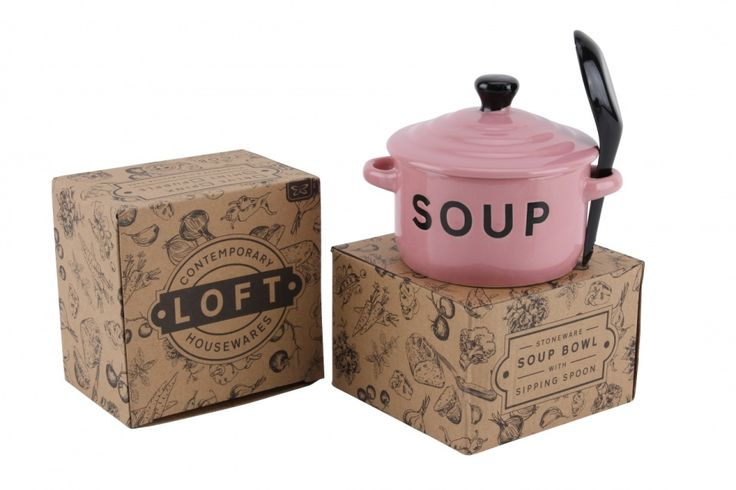 Pink Soul Bowl and Spoon - Wonder Stuff