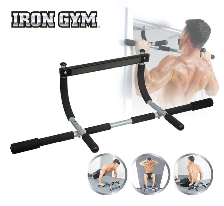 IRON Gym® XTREME + is een instelbare versie van de geavanceerde IRON Gym workout bar. Verstelbare constructie maakt het mogelijk de training bar in een standaard kozijn te monteren, wanddikte is niet meer een probleem voor uw thuis training!