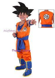 Resultado de imagen para disfraz de dragon ball z para niños