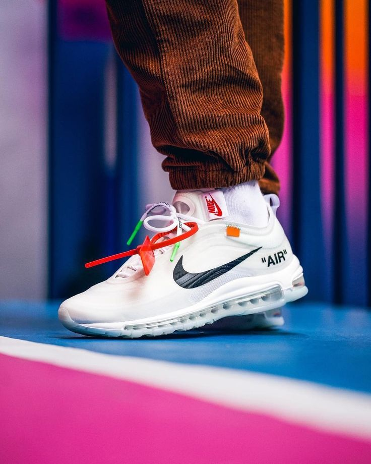 OFF WHITE x Nike Air Max 97 | Sneakers men fashion, Stylish