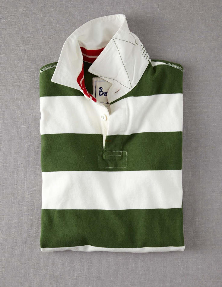 Rugby Shirt with a varied design by Tracy??