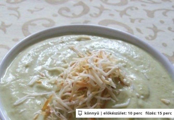 Joghurtos brokkolikrém