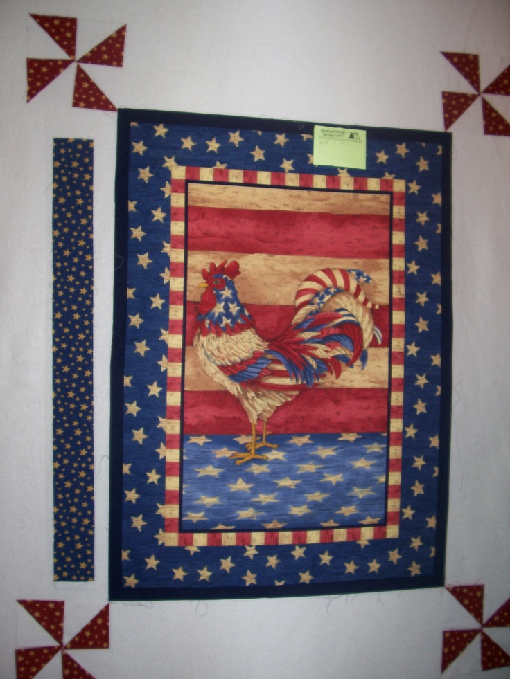 1000 Images About Quilts Chickens And Rooster Wall