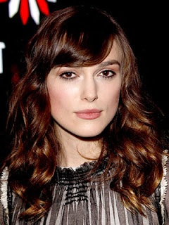 Kierra Knightly bangs