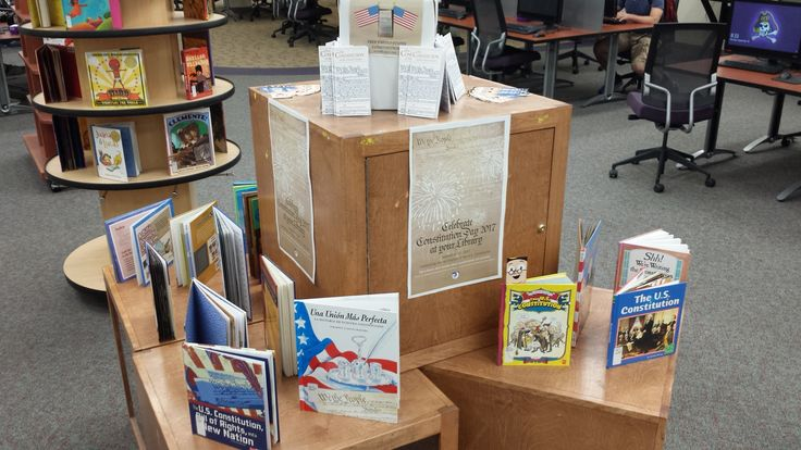 Happy Constitution Day!  Check out some of the books the TRC has on the US Constitution! #JoynerLibrary #Constitution #ConstitutionDay