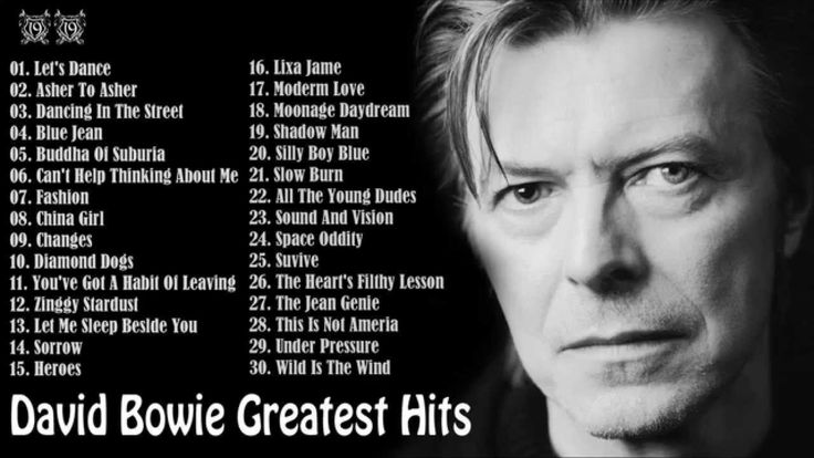 RIP David Bowie <3  David Bowie Greatest Hits [Full Album] || David Bowie's 30 Biggest Songs