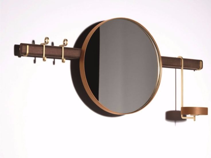 REN Wall-mounted mirror THE COLLECTION - Furniture and Complementary units Collection by Poltrona Frau design Neri