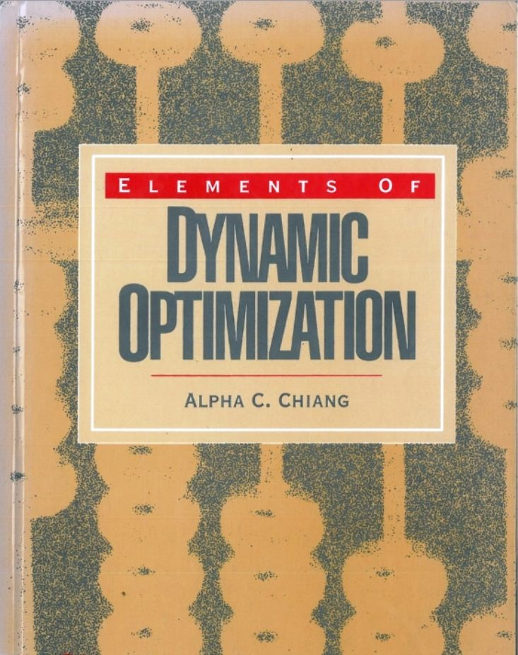 Elements of dynamic optimization (PRINT) REQUEST/SOLICITAR: http://biblioteca.cepal.org/record=b1253612~S0