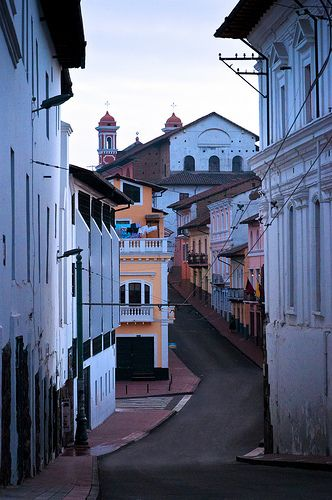 Meandering through the streests of #Quito, Ecuador
