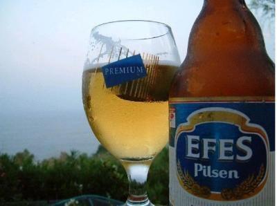 EFES beer (Turkish beer)