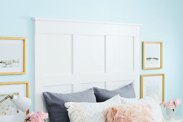 DIY headboard: This easy and affordable hack only looks like a million bucks