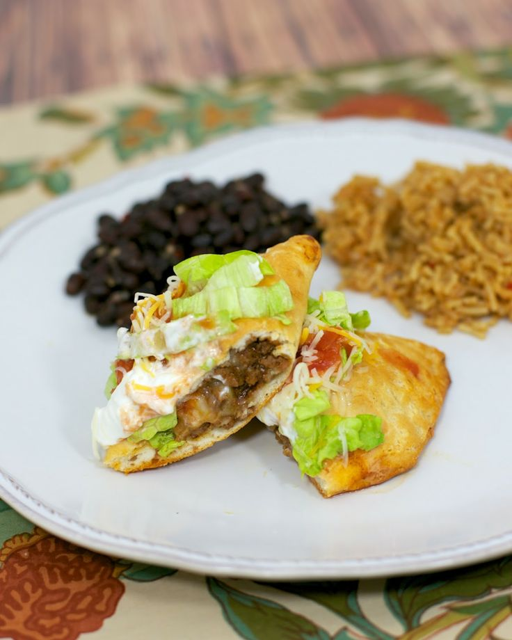 Wake up taco night with these yummy Taco Pockets! We love empanadas so maybe these can be a quick at home substitute.