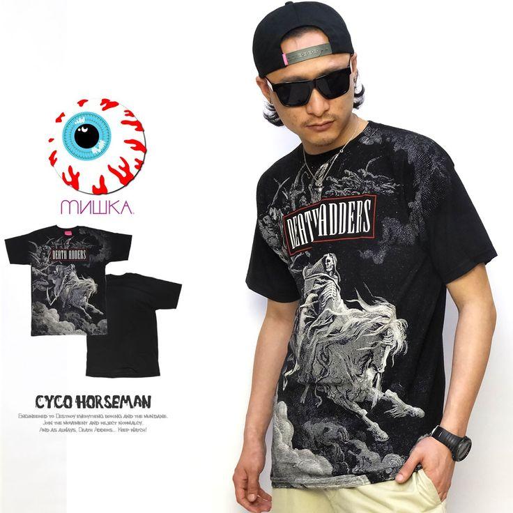 ミシカ MISHKA Tシャツ メンズ CYCO HORSEMAN :5v4136:DEEP B系・ストリートファッション - 通販 - Yahoo!ショッピング