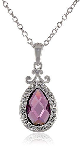 Disney Girls Princess Sofia the First Crystal Amulet Chain Pendant Necklace