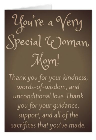"African American Birthday Greeting Cards for Mother, Mom, and Mama. ""You're a Very Special Woman Mom!"" #AfricanAmerican #GreetingCards #BirthdayGreetingCards #Mother #Mom #Mama #BlackMothers #BlackMoms"