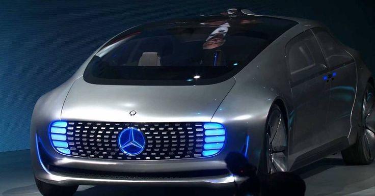 Mercedes self-driving car #tesla #automobile #automation #selfdrivingcar #selfdriving #gizmocrazed