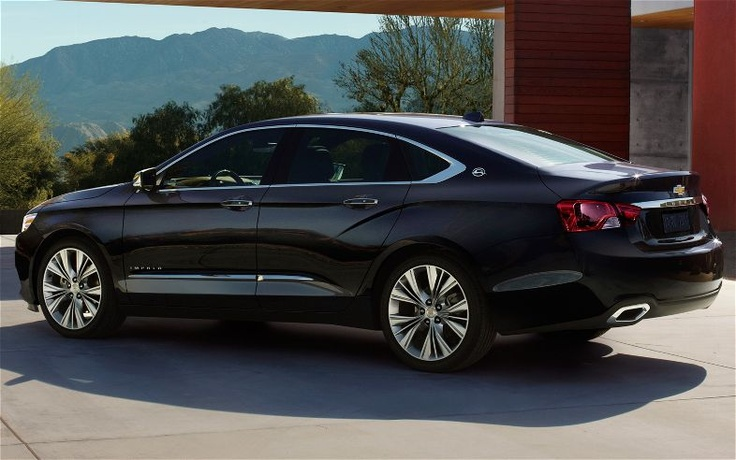 2014 Chevy Impala. I see Chevrolet is stepping their game up...