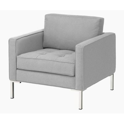 Paramount Fabric Lounge Chair Color: Smog by Wayfair $899
