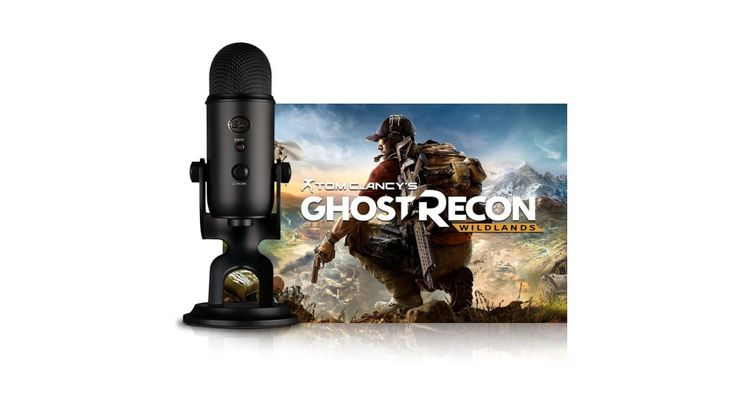Blue Blackout Yeti + Tom Clancy's Ghost Recon Wildlands PC, au prix de 95.99€ (expédié de France)