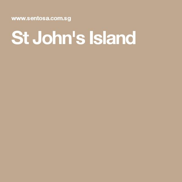 St John's Island