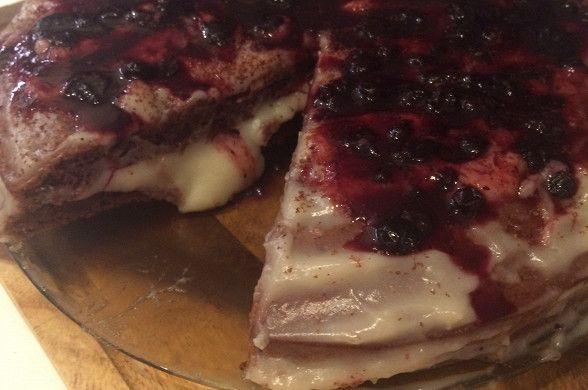 Пирог «Crazy Cake» рецепт – американская кухня: выпечка и десерты. «Афиша-Еда»