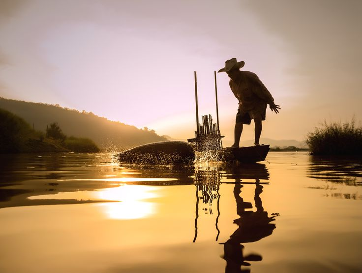 Fish traps by Visoot Uthairam on 500px