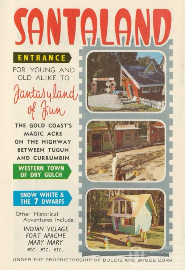 SANTALAND - here's another pin about this magical spot on the Gold Coast