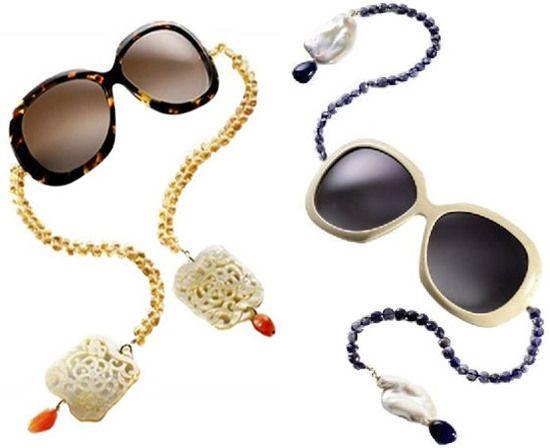 Multi Colour Gem Sunglasses Chain Pretty Little Thing rZBh5EGVF