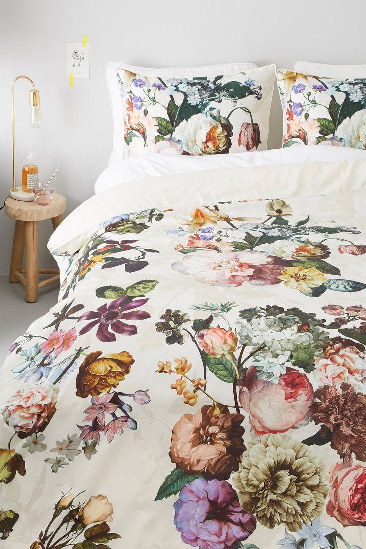 Katoensatijnen dekbedovertrek 1 pers | Bedrooms and Interiors
