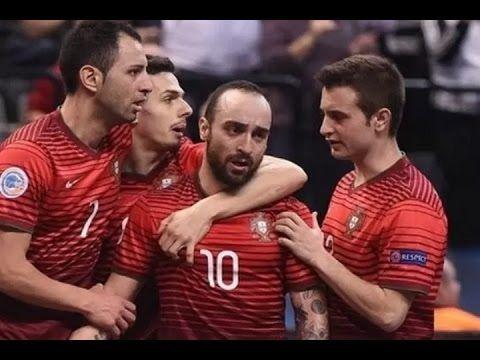 Ricardinho Rainbow Goal - UEFA Futsal Euro 2016 [Spain vs Portugal] 8.2.2016 - YouTube