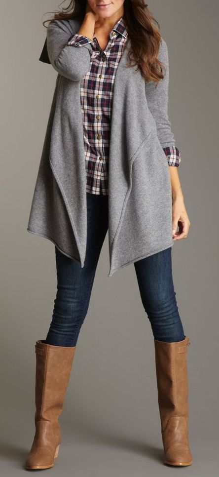 SHAE Cashmere Open Front Cardigan