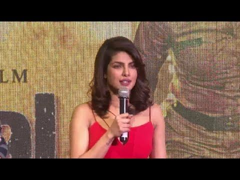 Priyanka Chopra - I am the GLOBAL actor.