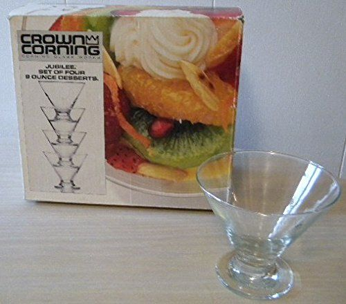 Crown Corning Glass Works Jubilee Dessert Cups Set of Four 9 Ounce Parfait Glasses Crown Corning http://www.amazon.com/dp/B00KZ1O3RA/ref=cm_sw_r_pi_dp_DDFTtb16J3CBT1MN