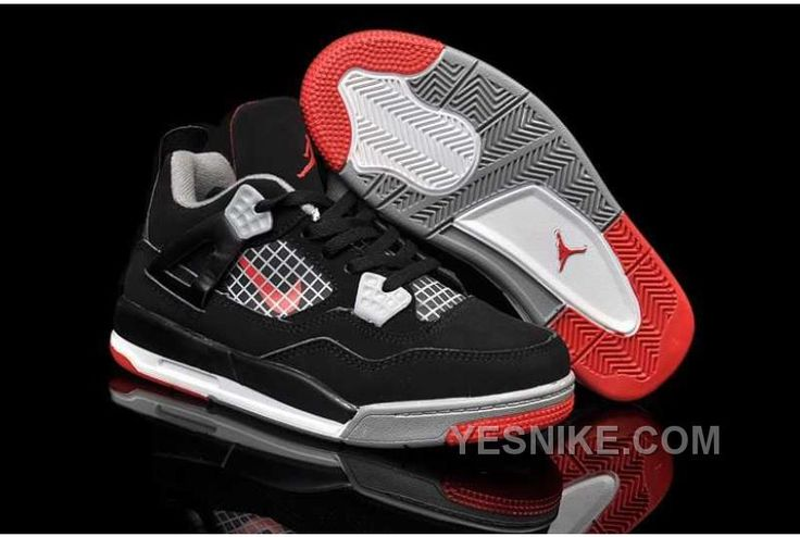 http://www.yesnike.com/big-discount-66-off-nike-air-jordan-4-kids-black-grey-red-shoes-zthsc.html BIG DISCOUNT! 66% OFF! NIKE AIR JORDAN 4 KIDS BLACK GREY RED SHOES ZTHSC Only $86.00 , Free Shipping!